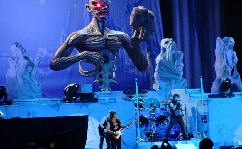 Sonisphere Festival ,  Anthrax , The Prodigy,  Iron Maiden, Anthrax, Ghost, Babymetal, Sebastian Bach, Voodoo Six, Alestorm, Ally (Virginmarys), Knebworth Park, 4/5-7-14