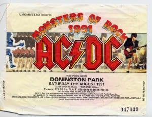 Monsters Of Rock – Gig Addiction