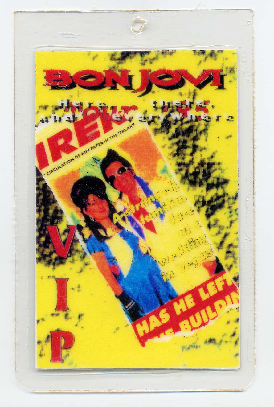 Bon Jovi Van Halen Extreme Don Valley Stadium