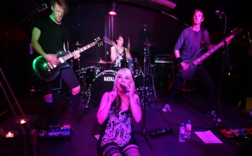 Skarlett Riot , Kamikazi Hotshot , Grim Dylan , Gypsy Heart , @ Voodoo Lounge, Stamford 19-9-14