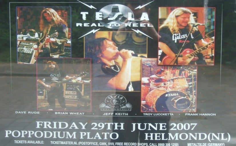 Tesla, @ Poppodium Plato ,Helmond, Netherlands ,29-6-07