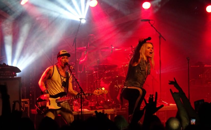 Reckless Love, Santa Cruz, rock city, Nottingham 12-3-16