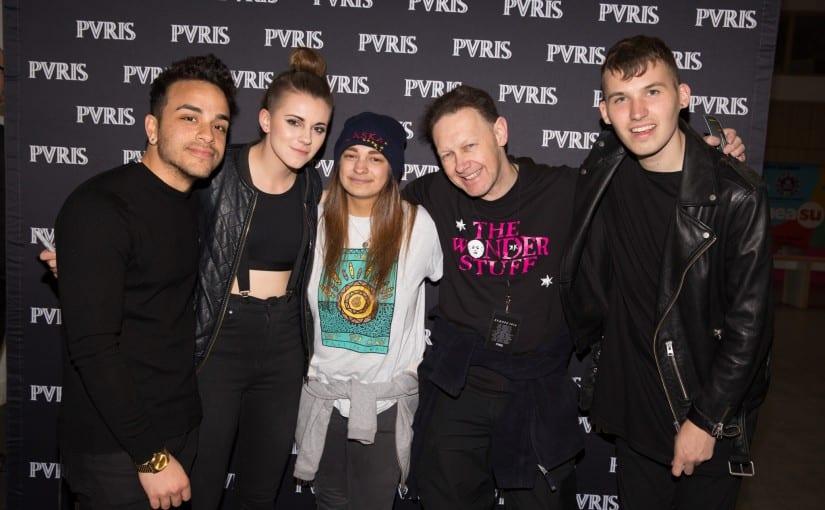 PVRIS , K-Flay, Bones, UEA, Norwich , 2-4-16