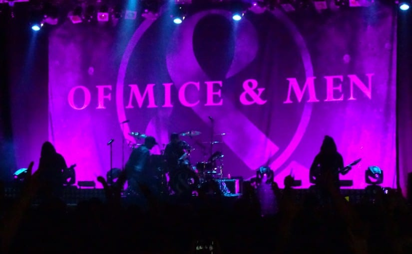 OF MICE & MEN , Crown The Empire, Hands Like Houses, Forum, London 7-10-16