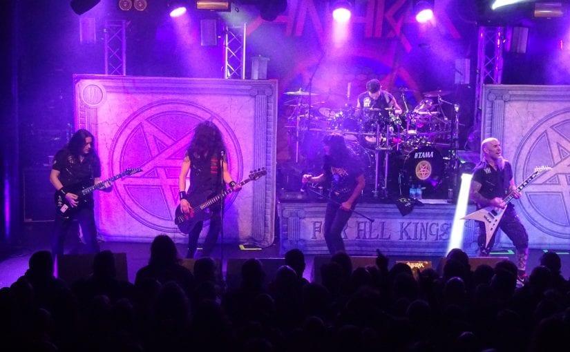 Anthrax, rock city, Nottingham,  13-2-17