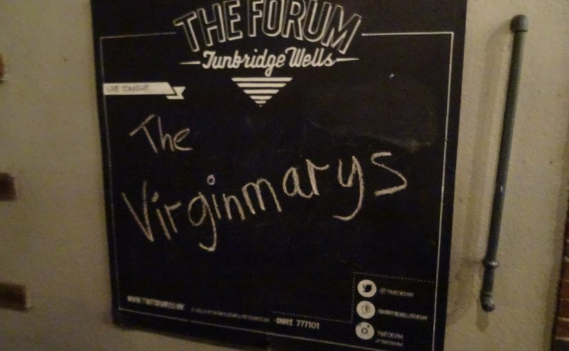 The Virginmarys, The Hyena Kill, The Forum, Tunbridge Wells 22-3-17