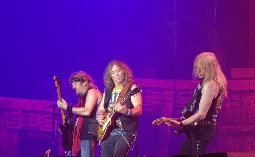Iron Maiden, Shinedown, Nottingham Motorpoint Arena, 4-5-17