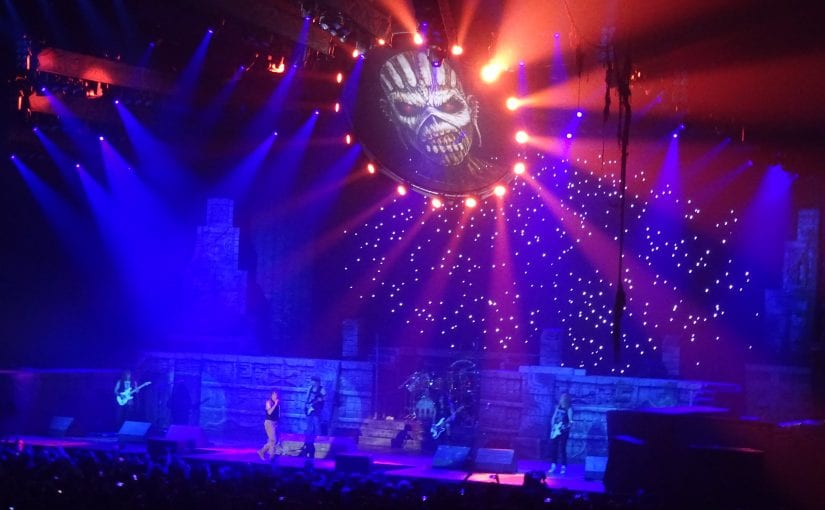 Iron Maiden, Sheffield Arena, 10-5-17