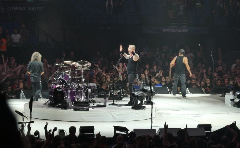 METALLICA ,Kvelertak, O2 arena, London, 24-10-17