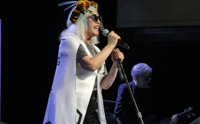 Blondie, mustang, royal concert hall, Nottingham 7-11-17