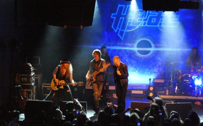 H.E.A.T. , Degreed, Black Diamonds, rescue rooms, Nottingham ,19-11-17