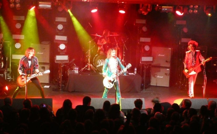 The Darkness, Rock City, Nottingham, 2-12-17