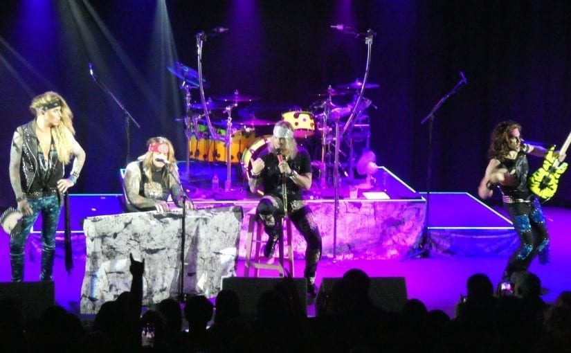 STEEL PANTHER, Inglorious, Wayward Sons, Rock City, Nottingham, 23-1-18