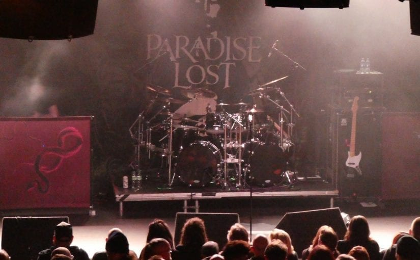 PARADISE LOST, Outshine, King Goat, Rescue rooms, Nottingham, 18-2-18