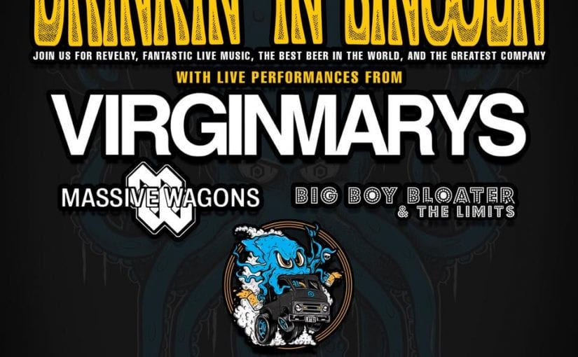 VIRGINMARYS , Massive Wagons, Big Boy Bloater & The Limits, Lincolnshire Showground ,21-4-18